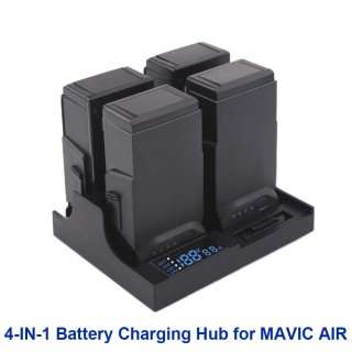 Dji Mavic Air Charger Hub 4in1 Parallel Charging Board